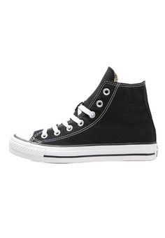 Converse. CHUCK TAYLOR ALL STAR - High-top trainers - black. Sole:synthetics. Padding type:Cold padding. Shoe tip:round. Heel type:flat. Lining:textile. shoe fastener:laces. Fabric:Canvas. upper material:textile. Insole:textile