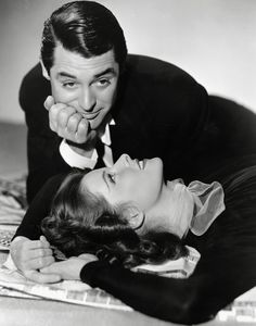 Cary Grant and Katherine Hepburn