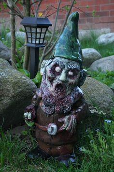 Necro Neckbeard Zombie Gnome by RevenantFX on Etsy, $60.00 Evil Gnome, Zombie Movies, Funny Zombie, Zombie Vampire, Zombie Monster, Gnome Statues, Halloween Tricks, Halloween Stuff, Halloween Crafts
