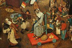 Bruegel the Elder, Fight between Carnival and Lent, detail 4 | by f_snarfel