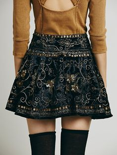 Free People Little Layla Velvet Mini, $168.00