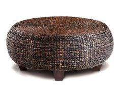 Throw in a Mandalay Woven Cocktail Table to add texture to a room. #Homestaging #Tips #CORT