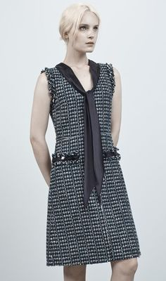 Marc Jacobs Tweed Two Pocket Dress - made for girls like me