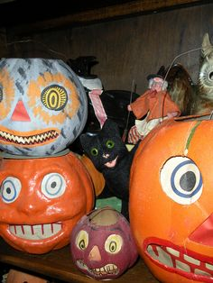 Collection of Vintage Halloween