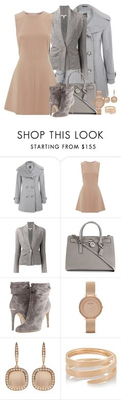 """""""back to work"""" by lilly517 ❤ liked on Polyvore featuring Cinzia Rocca, RED Valentino, Autumn Cashmere, MICHAEL Michael Kors, Burberry, Skagen, Astley Clarke and Anita Ko"""