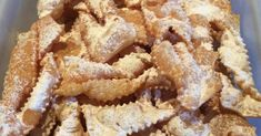 Recipe Crostoli by vixprap, learn to make this recipe easily in your kitchen machine and discover other Thermomix recipes in Baking - sweet.
