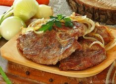 Miejsce poświęcone pasji do gotowania. Polish Recipes, Steak, Grilling, Pork, Food And Drink, Beef, Dinner Ideas, Interesting Recipes, Kale Stir Fry