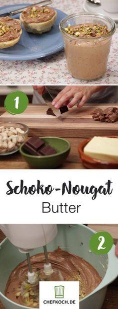 Schoko-Nougat Butter