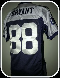 b669938ae DALLAS COWBOYS DEZ BRYANT REEBOK ON FIELD STITCHED JERSEY YOUTH LARGE 14-16   Reebok