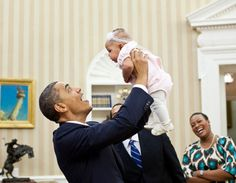 Barack Obama Being Adorable with Adorable Children  <3 <3 <3