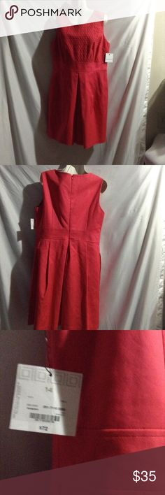 Dress final price Liz Claiborne coral dress. Brand new with tags size 14 Liz Claiborne Dresses