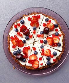 Marjaisa Pizza Brownie - Terveelliset herkut