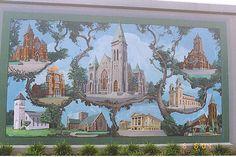 paducah ky flood wall murals | Wide Open Flood Gates