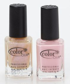 Another great find on #zulily! Blushing Rose & Pearl-Spective Nail Polish Set #zulilyfinds