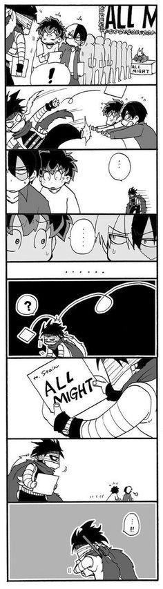 Boku no Hero Academia || Izuku Midoriya, Shouto Todoroki, Stain