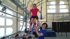 The Trapeze School New York (TSNY) of Washington, D.C. is a gold mine of swinging, tumbling, and jumping fun. Kids (4 and up) can exercise, learn teamwork, and increase their confidence...all while being completely silly.