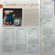 Ceramic Monthly Glaze