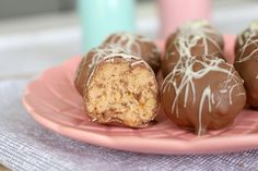 These quick and easy no-bake Cheesecake Balls are made with Caramel Tim Tams and cream cheese, then covered in chocolate... talk about yum!