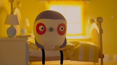 FEAR OF FLYING. A bird with a FEAR OF FLYING tries to avoid heading South for the winter. A live-action-animated short film- NO STOP-MOTION!...