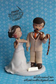 Novios Personalizados  #masaflexible #porcelanafria #coldporcelain #fimo #arcillapolimerica #polymerclay #handmade #handcrafted #hechoamano #hechoenvenezuela #madeinvenezuela #love #amor #torta #weddingcake #wedding #weddingtopper #caketopper #topedetorta #weddingdesign #Boda #BodasenVenezuela #Novia #Novias #bodasvzla #bodas2015 #noviospersonalizados #novios #ArtesaniasEmir