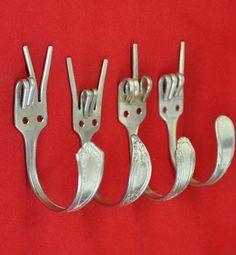 Cómo reutilizar los tenedores descabalados...