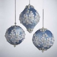 Victorian Christmas Ornaments to Make | how to make victorian christmas ornaments | Christmas