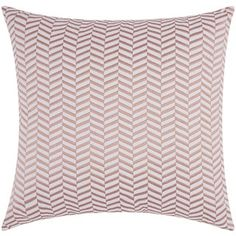 Shop for Mina Victory Luminescence Alternative Chevron Rose/Gold Throw Pillow by Nourison (20 x 20-inch) and more for everyday discount prices at Overstock.com - Your Online Home Decor Store!