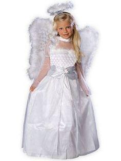 Rosebud Angel for Child | Cheap Angel Halloween Costume for Girls