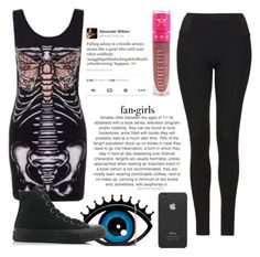"""So long and goodnight"" by jayceepanda on Polyvore featuring Topshop, Jeffree Star, Franks, Converse and Incase"