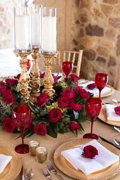 33 Lovely Valentine Wedding Ideas For Your Beautiful Moment - If you are a truly romantic bride I'm sure the Valentine's day wedding will be just the right thing for you. Which other day the population associate . Christmas Wedding Centerpieces, Winter Wedding Decorations, Elegant Centerpieces, Centrepieces, Elegant Wedding, Rustic Wedding, Wedding Black, Red And White Weddings, Diy Upcycling