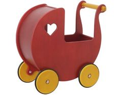 Moover Dolls Pram Red by Haba,