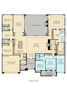 Floor Layout floor plan for a small house 1,150 sf with 3 bedrooms and 2 baths