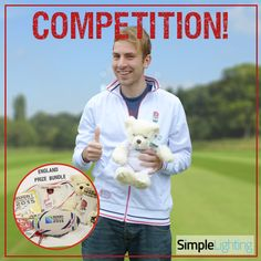 Tom from our sales team is super excited about England playing this weekend but even more so about our wonderful competition. The chance to win a fantastic bundle has him jumping for joy. https://www.simplelighting.co.uk/rwc