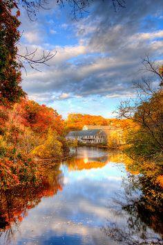 Charles River, Newton Upper Falls, Massachusetts