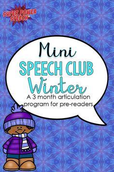 452 Best Winter Speech Activities images in 2019 | Speech activities