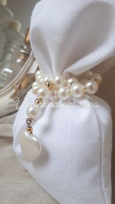 Napkin Rings, Marriage, Pearls, Woman, Decor, Valentines Day Weddings, Christening, Decoration, Dekoration