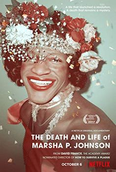 The Death and Life of Marsha P. Johnson Netflix This documentary uses never-before-seen footage and rediscovered interviews in a search for the truth behind the mysterious 1992 death of black transgender activist and Stonewall veteran Marsha P. Netflix Movies To Watch, Hd Movies, Novel Movies, 2018 Movies, Netflix Series, Tv Series, Good Family Films, Victoria Cruz, Sylvia Rivera