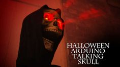 Talking Arduino Halloween Skeleton