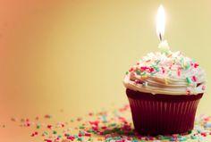 Birthday cupcake <3