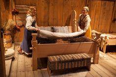 Lofotr Viking Museum - Viking bedroom