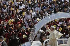 Papa Francisco visita a Uganda