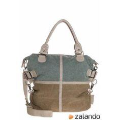 Schu(h)tzengel JESSIE Tote bag light denim/khaki #bag #women #covetme#Timetostartsaving