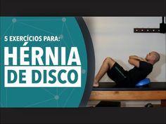 5 exercícios para hérnia de disco - YouTube