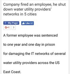 This was a pretty vindictive move #munchmath #cybersecurity #workers #nyc