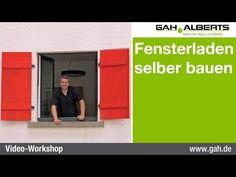 Fensterläden selber bauen – Bauanleitung für Klappläden