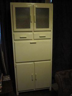 50 S Vintage Retro Free Standing Kitchen Unit Cupboard