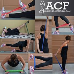 resistance loop band exercises - Google Search