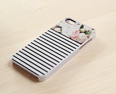 floral stripes iphone case from www.another-case.com