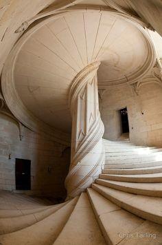 Chateau de la Rochefoucauld Stairway II