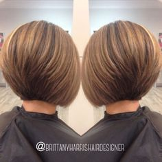 Short Stacked Bob Haircuts, Bob Hairstyles For Fine Hair, Short Cuts, Pixie Haircuts, Layered Haircuts, Wedding Hairstyles, Braided Hairstyles, Short Stacked Bobs, 2015 Hairstyles